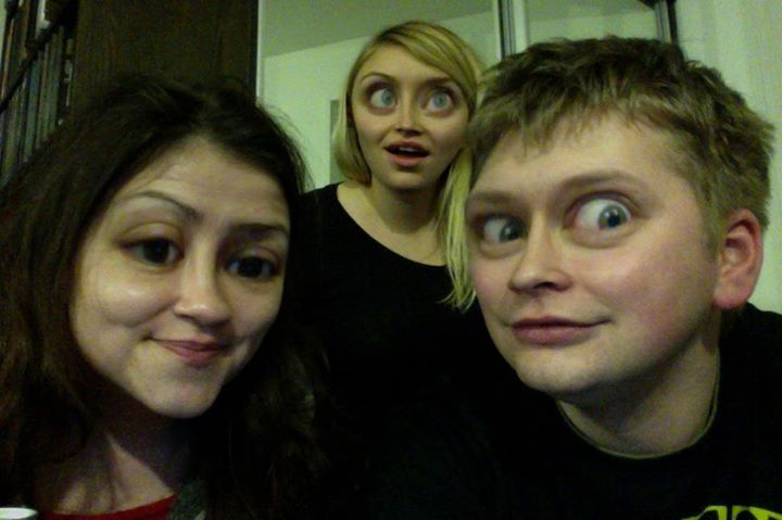 """Zdjęcie, które zostało zatytułowane: """"Wszyscy mamy oczy jak Justa""""."""